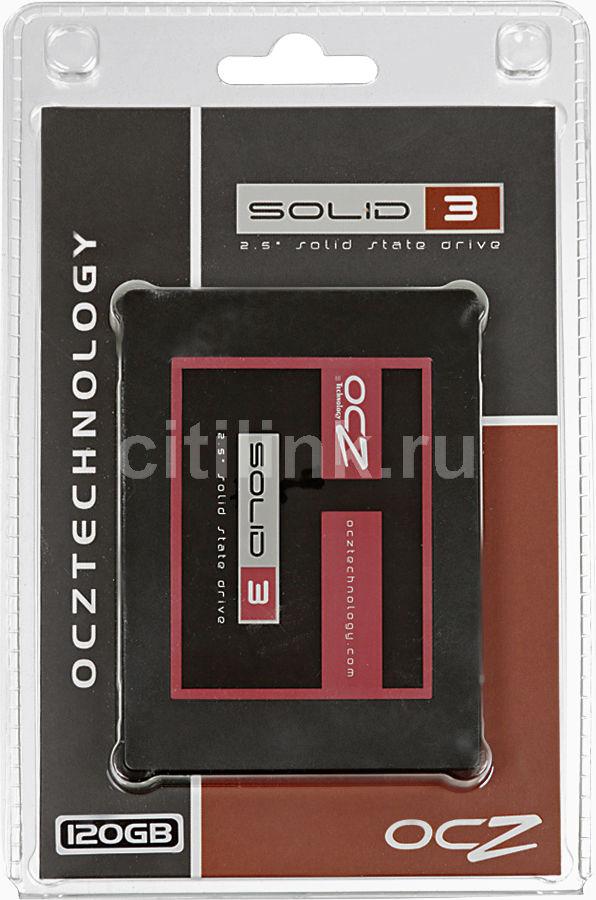 Накопитель SSD OCZ Solid 3 SLD3-25SAT3-120G 120Гб, 2.5