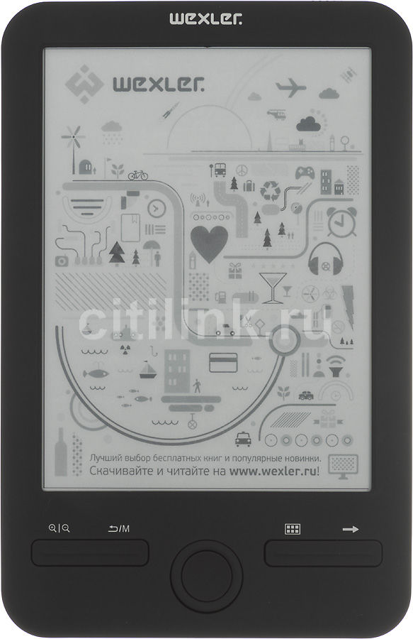 Электронная книга WEXLER E6003,  6