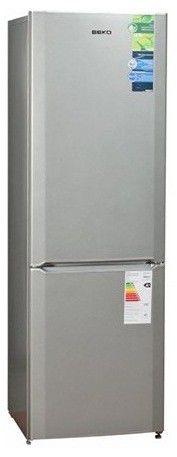 Холодильник BEKO CS 328020 S,  двухкамерный,  серебристый