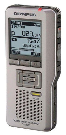 Диктофон OLYMPUS DS-2500 серый [v403121se000]