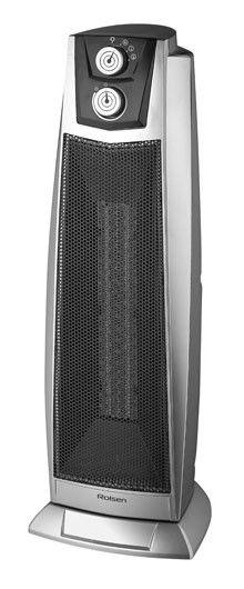 Тепловентилятор ROLSEN RTH2605,  2000Вт,  серебристый
