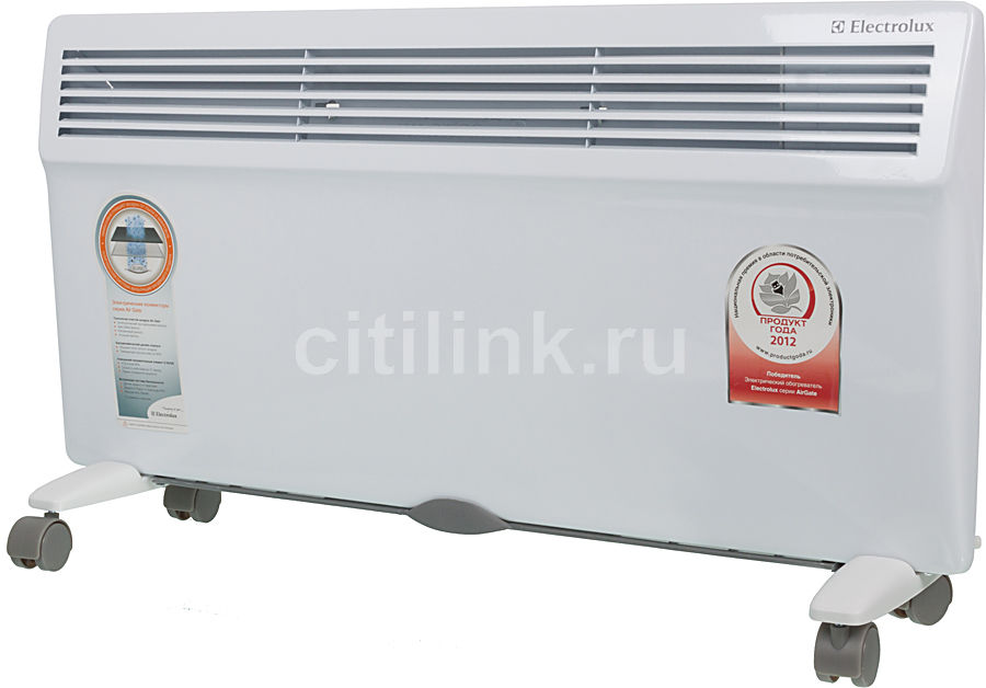 Конвектор ELECTROLUX ECH/AG2000 MF,  2000Вт,  белый