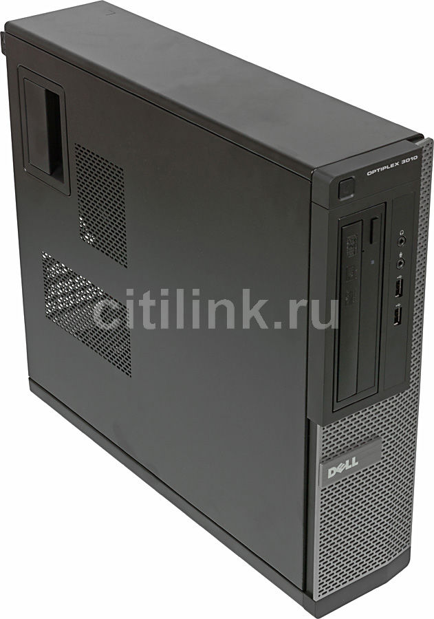 Компьютер  DELL Optiplex 3010 DT,  Intel  Core i5  3450,  DDR3 4Гб, 500Гб,  Intel HD Graphics 2500,  DVD-RW,  Free DOS,  черный и серебристый [x073010104r]
