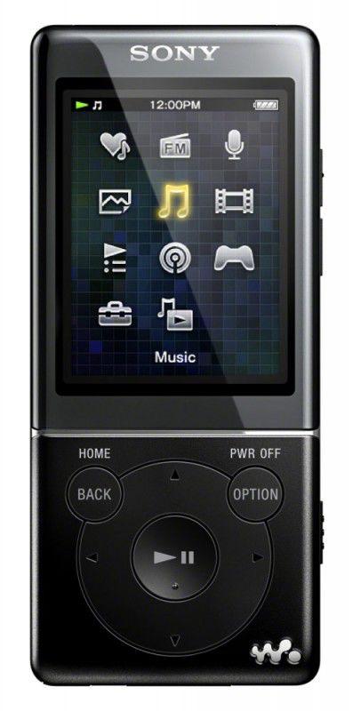 MP3 плеер SONY NWZ-E473 flash 4Гб черный [nwze473b.ee]