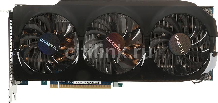 Видеокарта GIGABYTE Radeon HD 7970,  3Гб, GDDR5, OC,  Ret [gv-r797to-3gd]