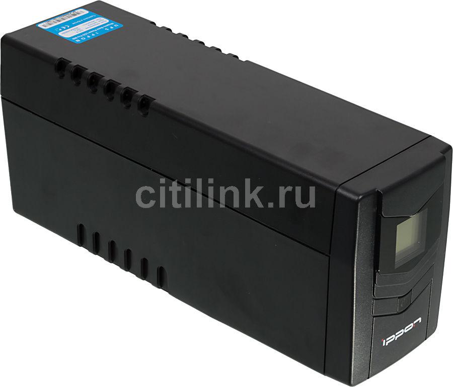 Источник бесперебойного питания IPPON Back Power Pro LCD 800 Euro,  800ВA [9c00-53214-q0p]