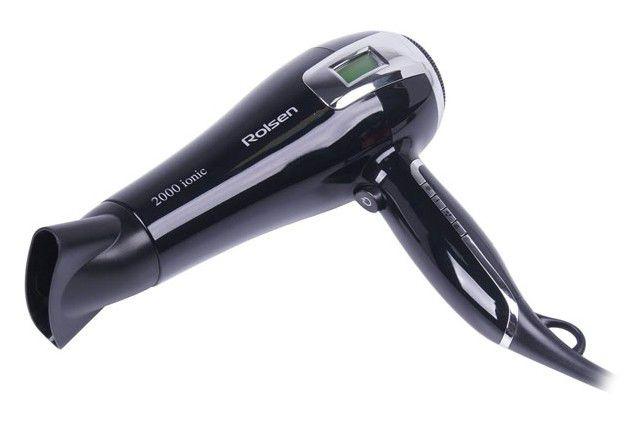 Фен ROLSEN HD3721L, 2000Вт, черный