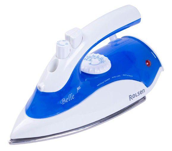 Утюг ROLSEN RN2240 Belle,  1200Вт,  белый/ синий