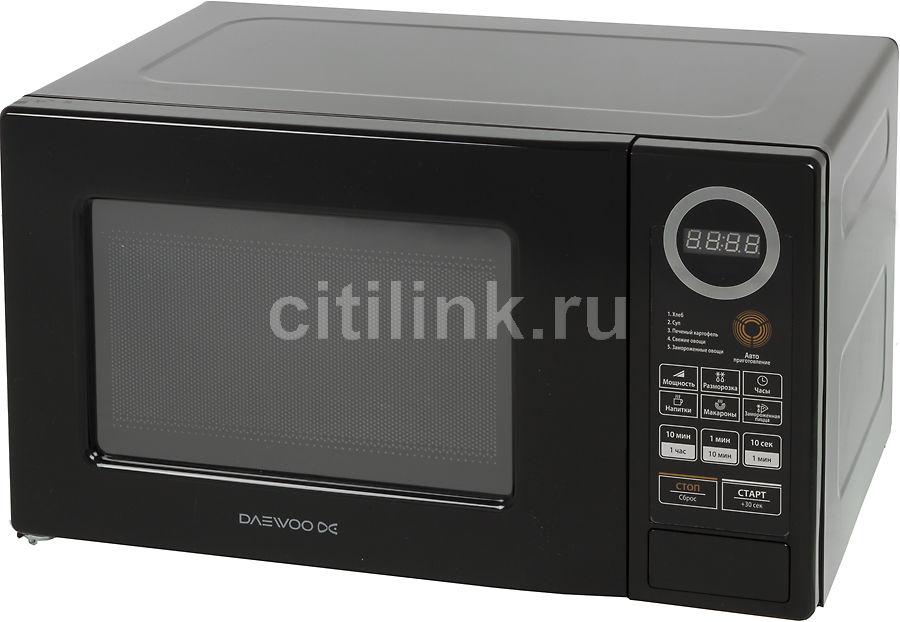 Микроволновая печь DAEWOO KOR-6L7BB, черный