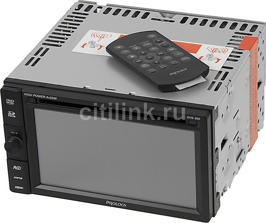 Автомагнитола PROLOGY DVS-260,  USB,  SD/MMC