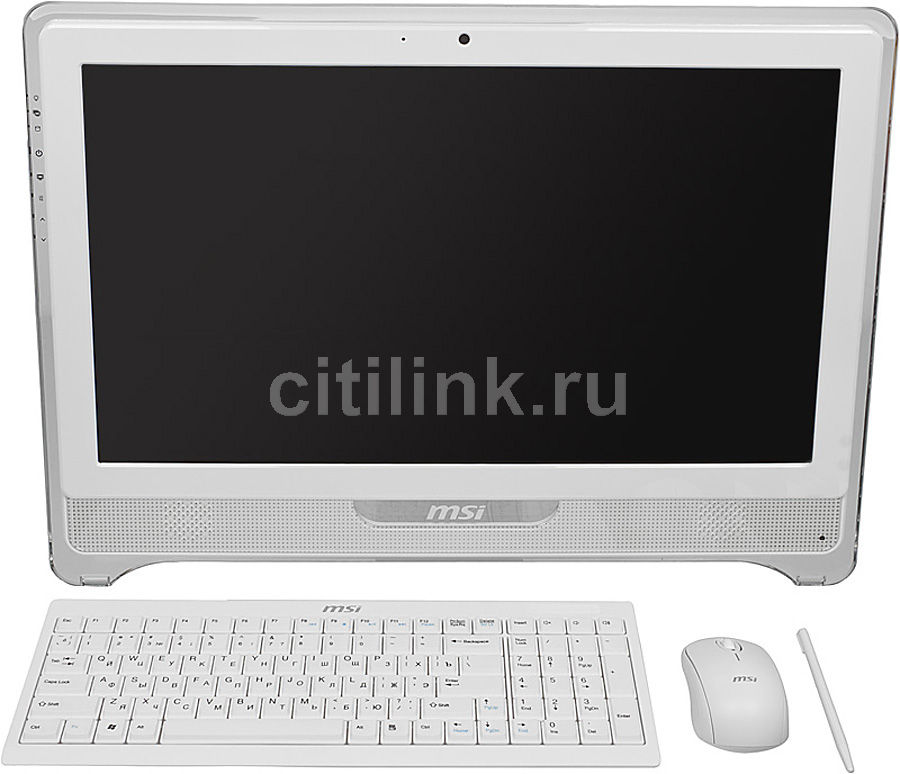 Моноблок MSI AE2281G-009RU, Intel Core i3 3220, 4Гб, 500Гб, nVIDIA GeForce GT630 - 2048 Мб, DVD-RW, Windows 7 Home Premium, белый [9s6-ac7712-009]
