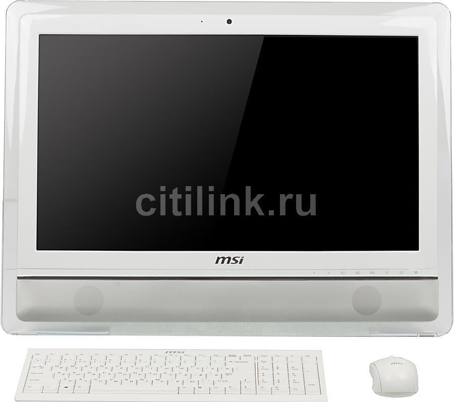 Моноблок MSI AE2410G-232RU, Intel Core i3 2350M, 4Гб, 500Гб, nVIDIA GeForce GT630M - 1024 Мб, DVD-RW, Windows 7 Home Premium, белый и серебристый [9s6-ae3212-232]