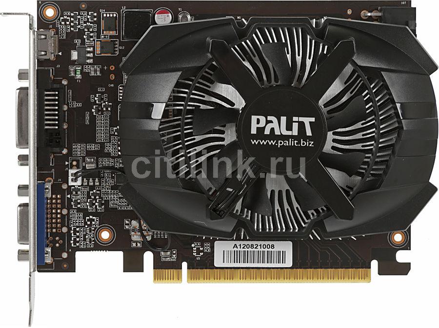Видеокарта PALIT GeForce GTX 650,  NE5X65001301-107XF BULK,  1Гб, GDDR5, oem
