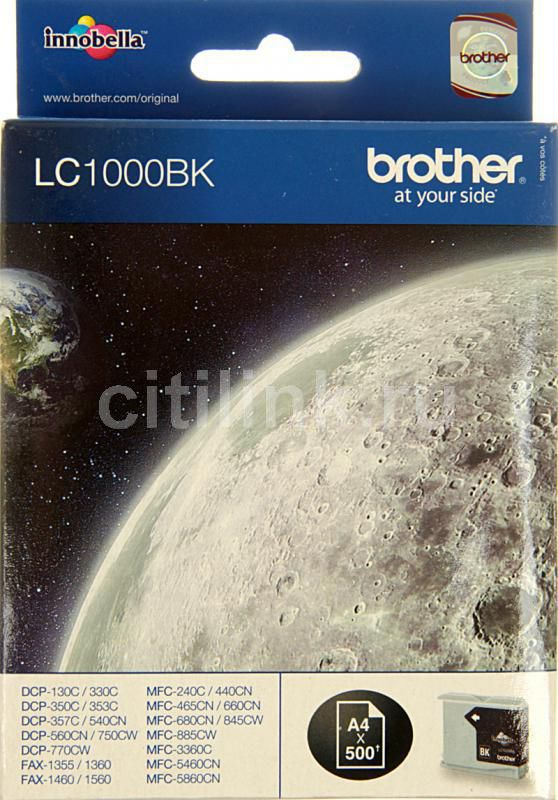Картридж BROTHER LC1000BK черный