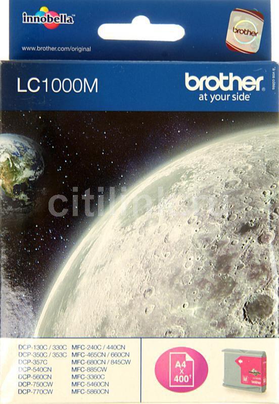 Картридж BROTHER LC1000M пурпурный