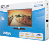 "LED телевизор BBK Ultimo LEM3289F  ""R"", 32"", FULL HD (1080p),  серый вид 13"
