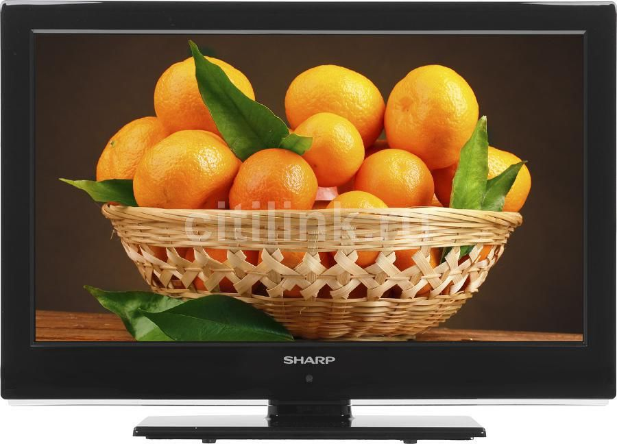 "LED телевизор SHARP LC22LE240RU  22"", FULL HD (1080p),  черный"