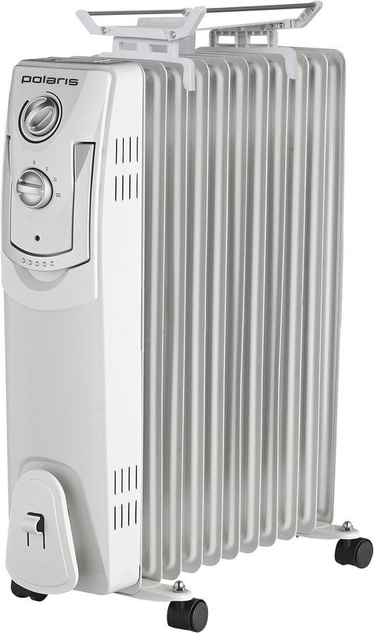 Масляный радиатор POLARIS PRE M 1125, 2500Вт, белый