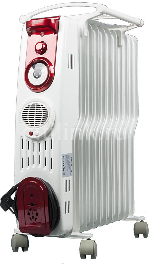 Масляный радиатор POLARIS PRE S1129HF, 2900Вт, белый [pre s 1129 hf]