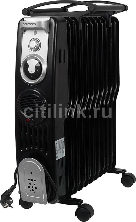 Масляный радиатор POLARIS PRE S1129HF, 2900Вт, черный [pre s 1129 hf]