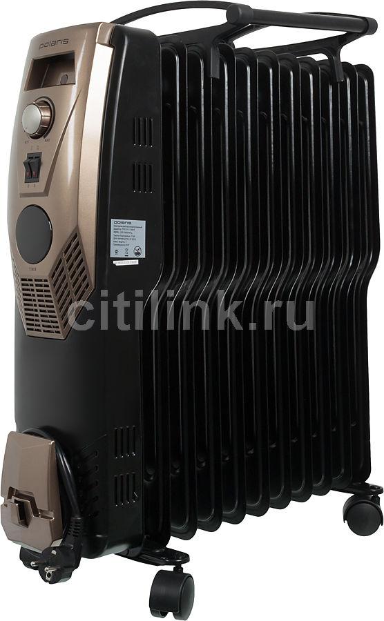 Масляный радиатор POLARIS PRE SN 1129HF, 2900Вт, черный