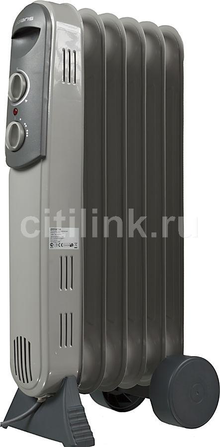 Масляный радиатор POLARIS CR 0612B, 1200Вт, серый [pre cr 0612b]