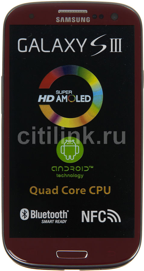 Смартфон SAMSUNG Galaxy S III GT-I9300  16Gb, красный