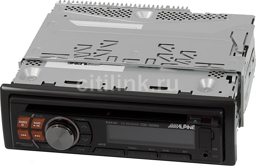 Автомагнитола ALPINE CDE-130RM,  USB