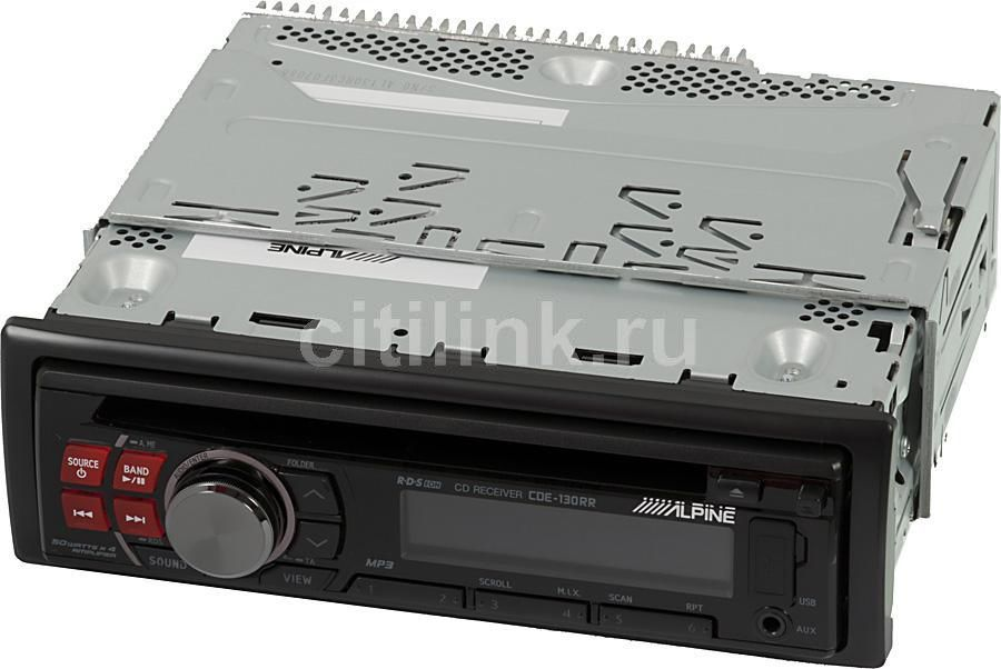 Автомагнитола ALPINE CDE-130RR,  USB