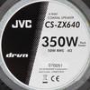 Колонки автомобильные JVC CS-ZX640U,  коаксиальные,  350Вт вид 3