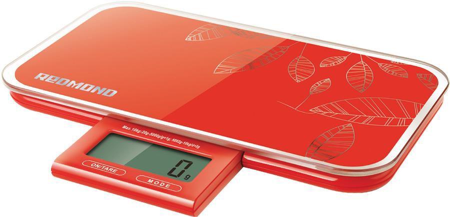 Весы кухонные REDMOND RS-721,  красный