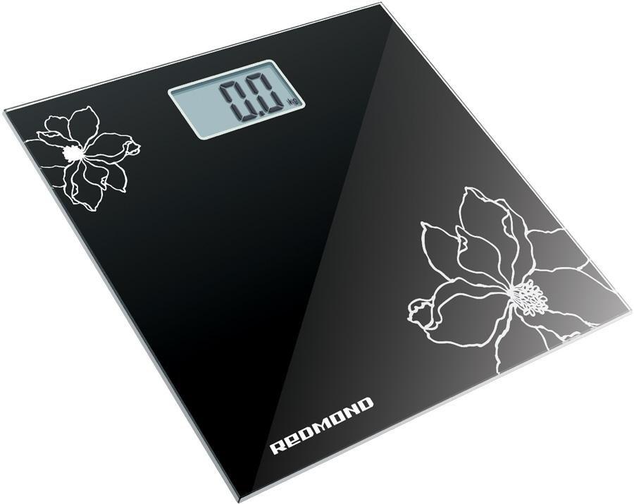 Напольные весы REDMOND RS-708, до 180кг, цвет: черный [rs-708 (black)]