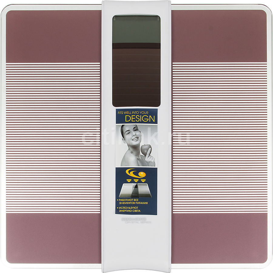 Напольные весы REDMOND RS-719, до 150кг, цвет: розовый [rs-719 (розовый)]