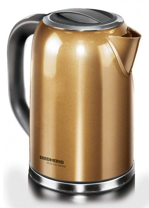 Чайник электрический REDMOND RK-М114, 2000Вт, золотистый
