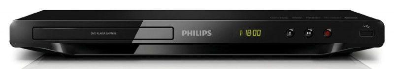 DVD-плеер PHILIPS DVP3650/51,  черный
