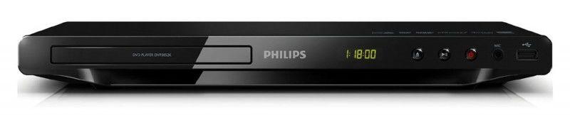 DVD-плеер PHILIPS DVP3852K/51,  черный