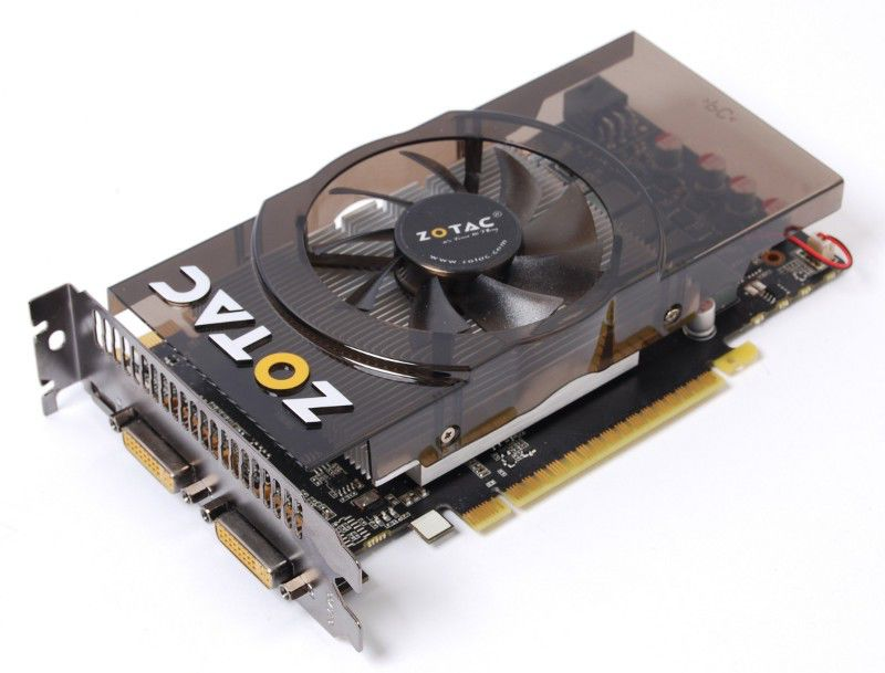 Видеокарта ZOTAC GeForce GTX 550Ti,  1Гб, GDDR5, oem [zt-50404-10b]