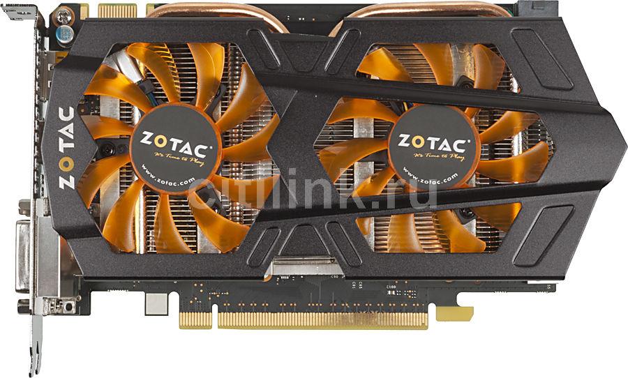 Видеокарта ZOTAC GeForce GTX 660,  2Гб, GDDR5, Ret [zt-60901-10m]