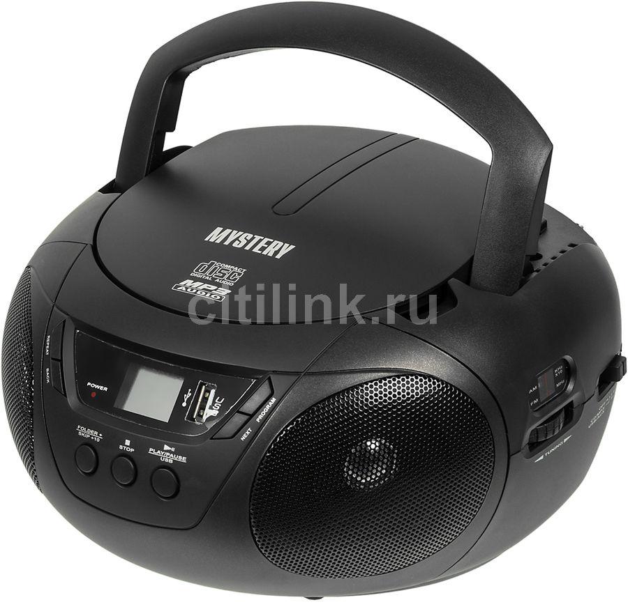 Аудиомагнитола MYSTERY BM-6104,  черный