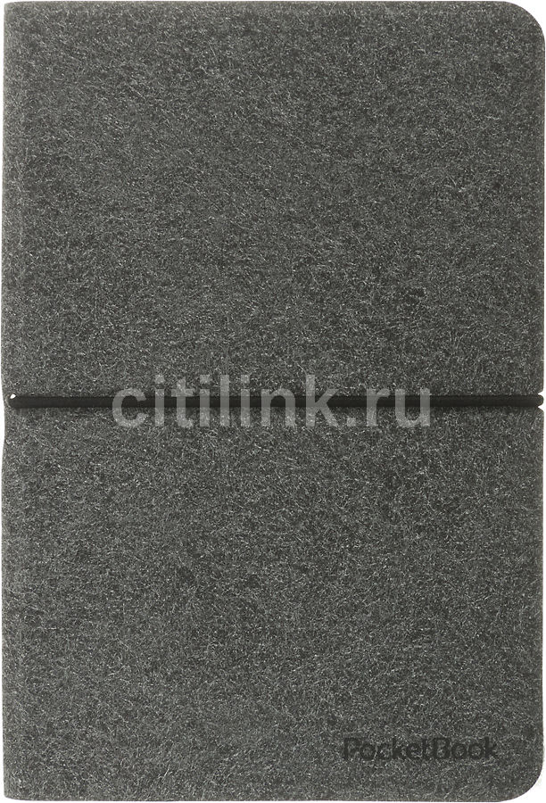 Обложка POCKETBOOK Vigo World Easy (VWPUC - 622DY/RD/BK/BR - ES), серый