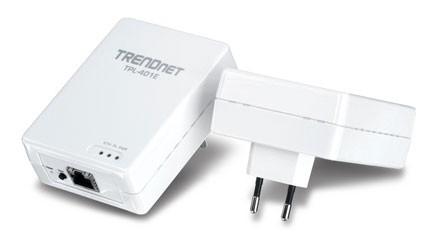 Сетевой адаптер HomePlug AV TRENDNET TPL-401E2K Ethernet