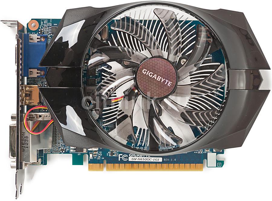Видеокарта GIGABYTE GeForce GTX 650,  1Гб, GDDR5, OC,  Ret [gv-n650oc-1gi]