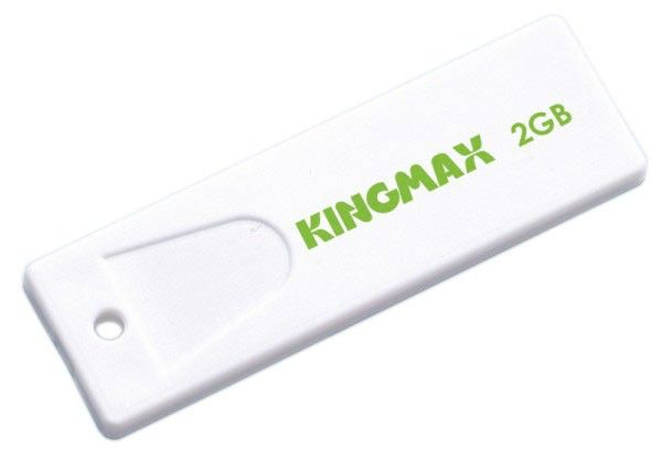 Флешка USB KINGMAX Super Stick 2Гб, USB2.0, белый