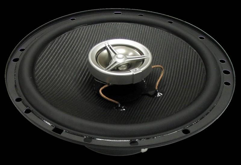 Колонки автомобильные JBL CS-2165,  коаксиальные,  125Вт