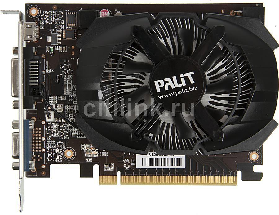 Видеокарта PALIT GeForce GTX 650,  NE5X65001341-107XF,  2Гб, GDDR5, Ret