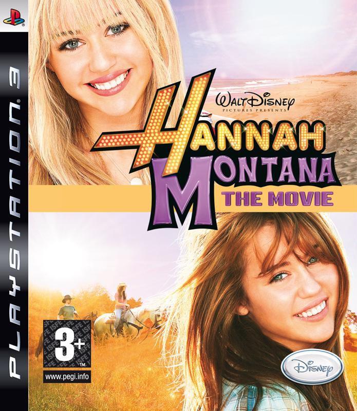 Игра SOFT CLUB Disney Ханна Монтана в кино для  PlayStation3 Rus (документация)