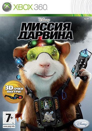 Игра SOFT CLUB Disney Миссия Дарвина для  Xbox360 Rus (документация)