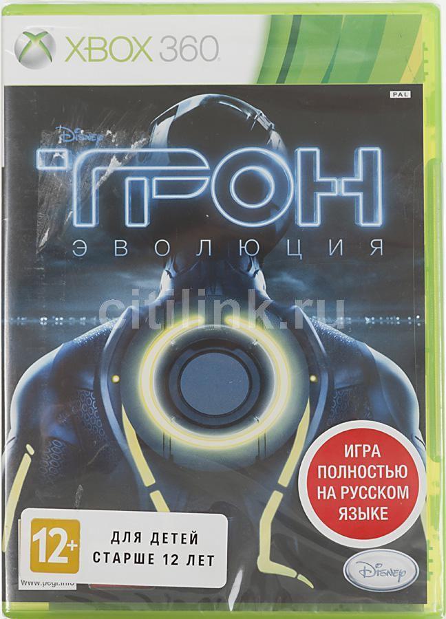 Игра SOFT CLUB Disney ТРОН: Эволюция для  Xbox360 Rus