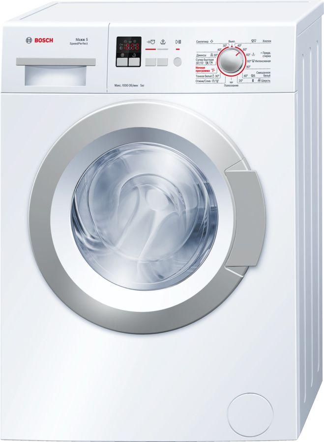 Стиральная машина BOSCH Maxx 5 WLG20160OE, фронтальная загрузка,  белый