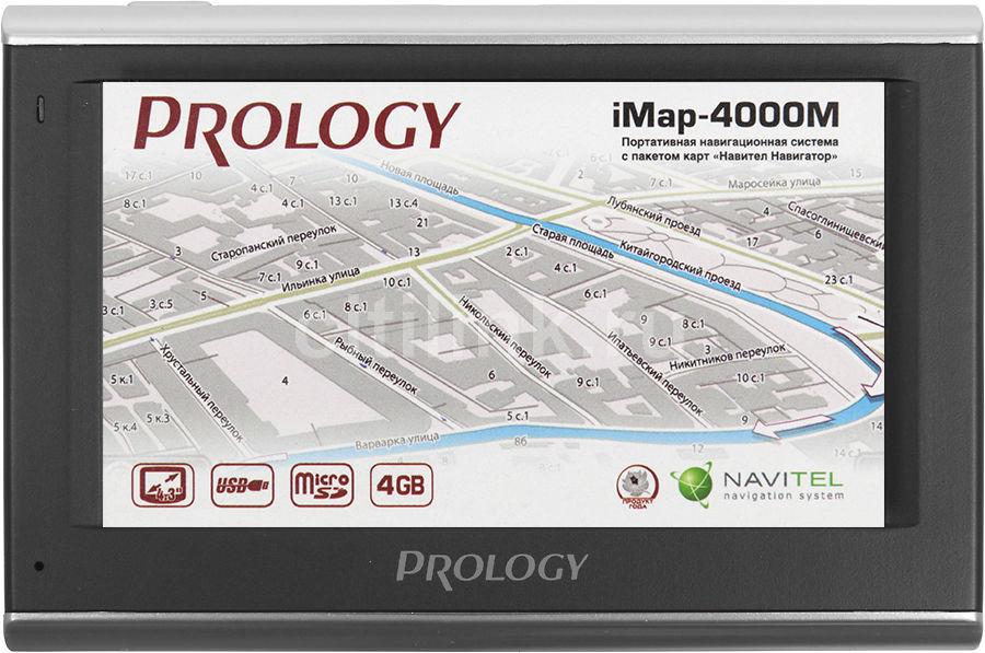 GPS навигатор PROLOGY iMAP-4000M,  4.3